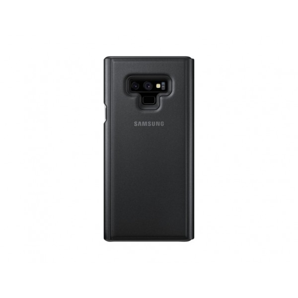SAMSUNG Clear View Standing Cover per Galaxy Note 9 Nero