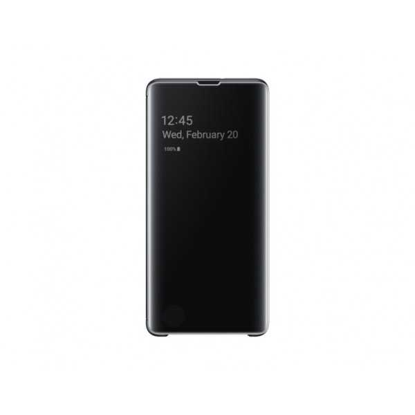 SAMSUNG Clear View Standing Cover per Galaxy S10+