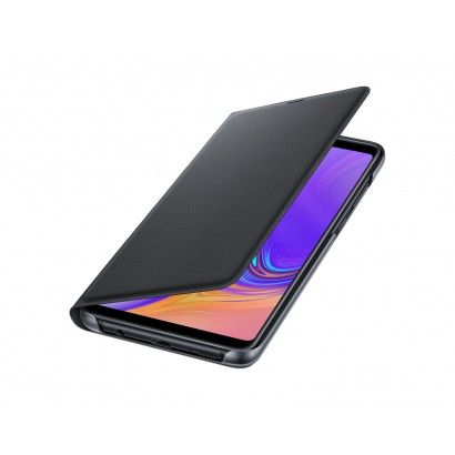 SAMSUNG Custodia Wallet Cover per Galaxy A9 Black