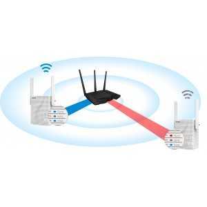 TENDA NT-15 Wi-Fi AC750 extender Dual Band Ethernet