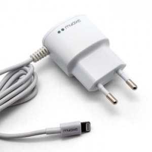 MYAXE Caricabatterie da Rete MFI Lightning per iPhone